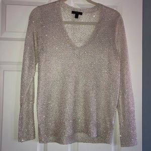 J. Crew taupe/beige sweater